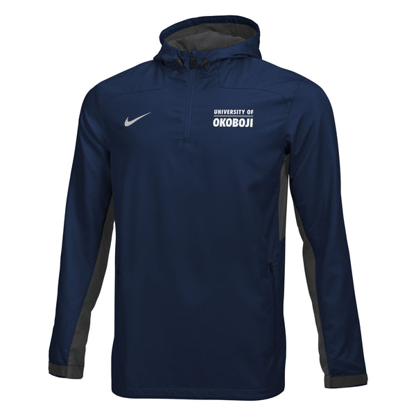 Men's Nike Woven 1/4 Zip Jacket - Navy