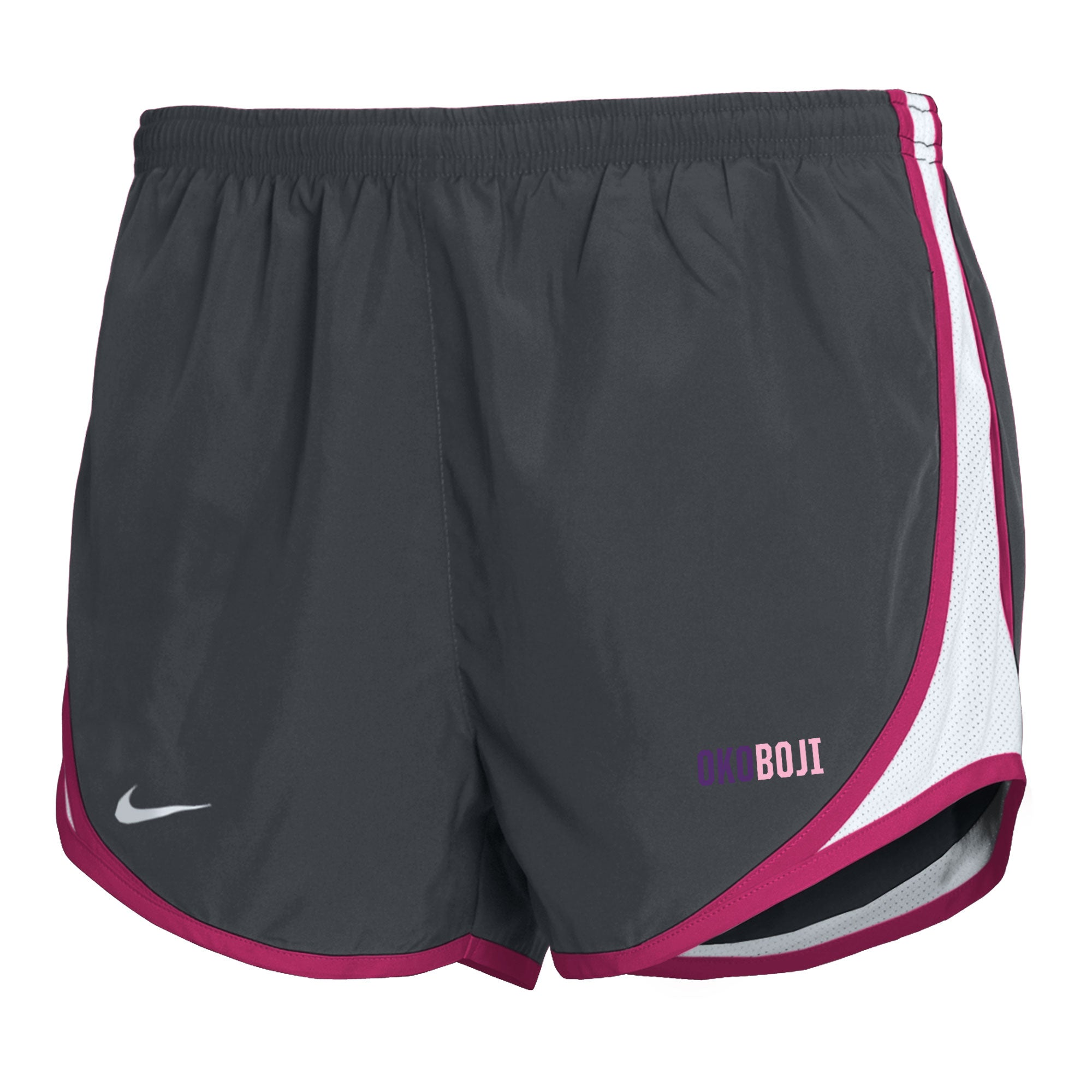Girl's Nike Tempo Shorts - Grey