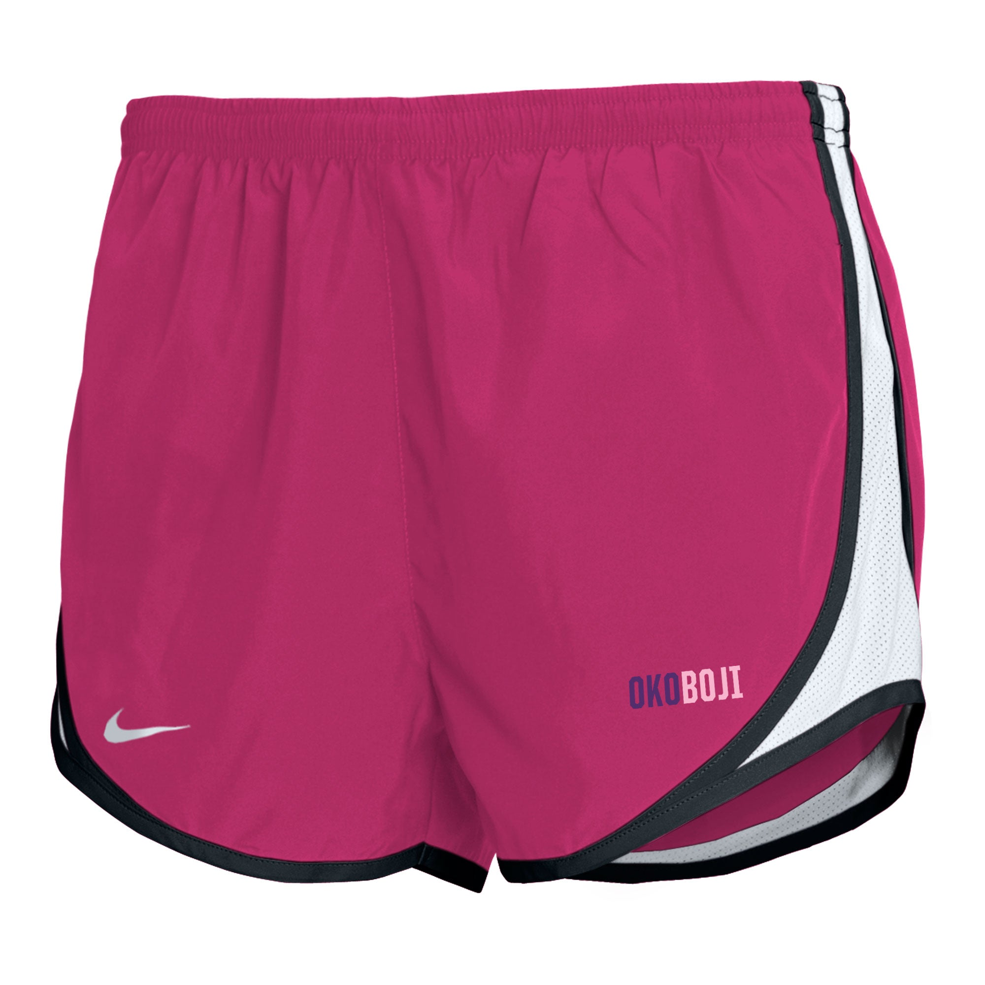 Girl's Nike Tempo Shorts - Victory Pink