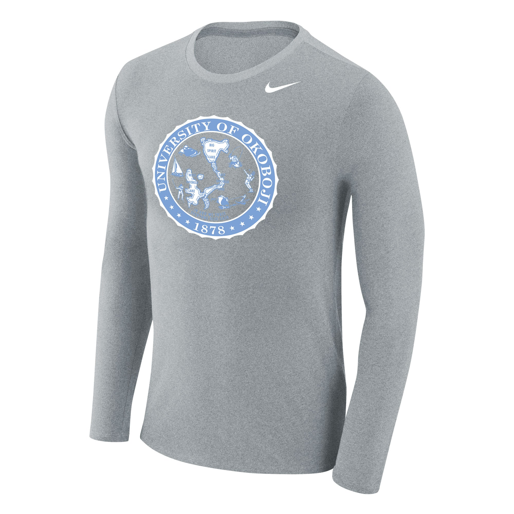 University of Okoboji - Marled Long Sleeve Tee