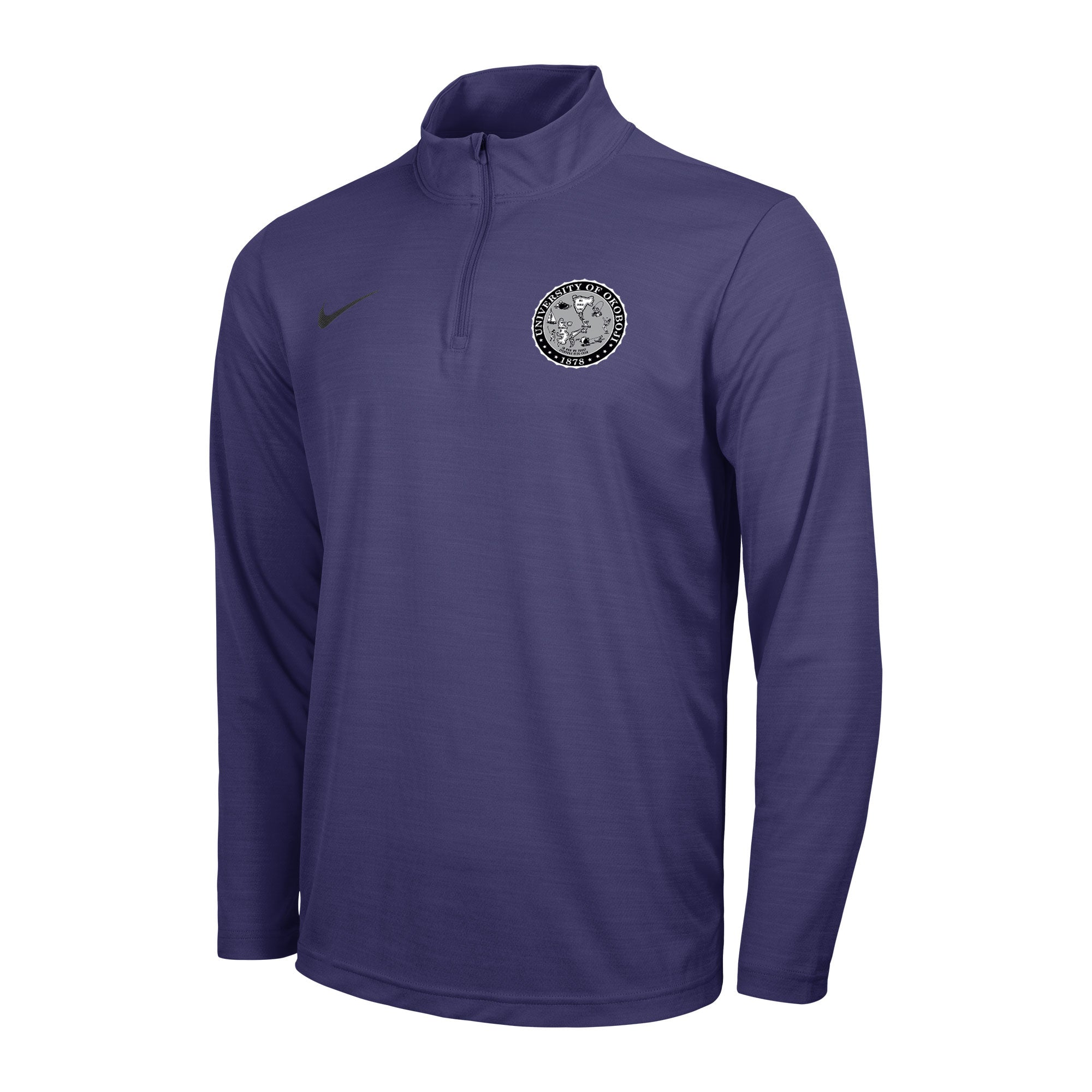 Men's Okoboji Intensity 1/4 Zip Top - Orchid Purple