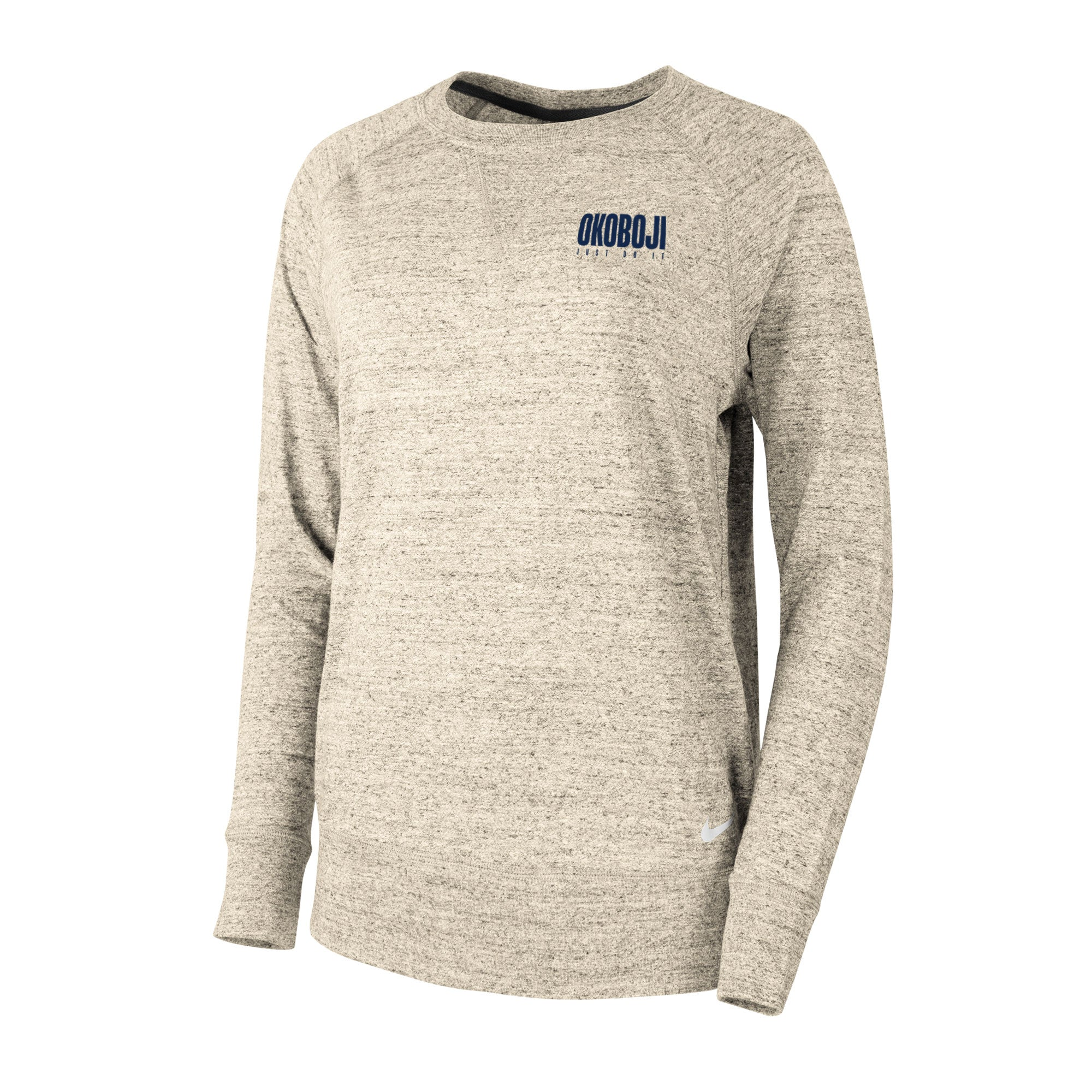 Okoboji Gym Vintage Crew - Oatmeal Heather