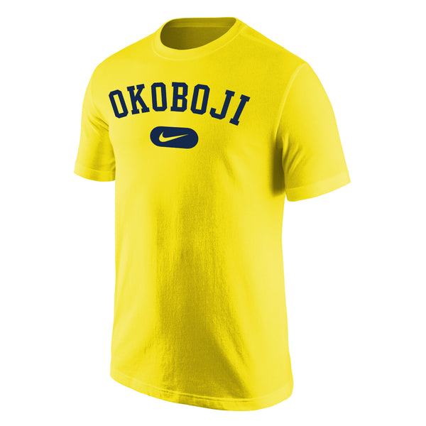 Okoboji Nike Core Cotton Short Sleeve Tee - Midwest Gold