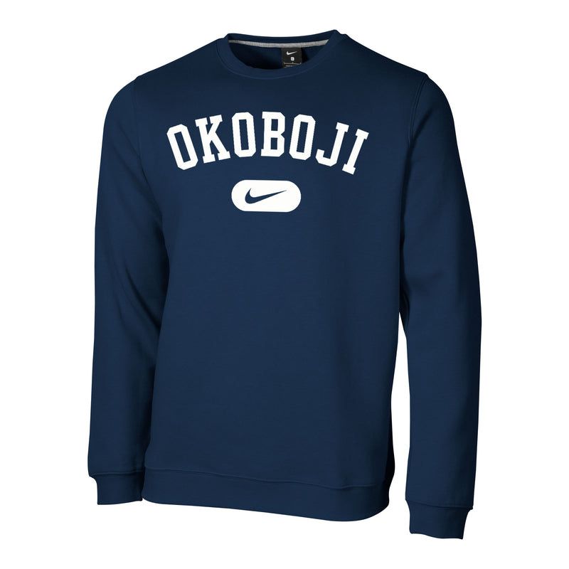 Stadium Fleece Crew - Navy
