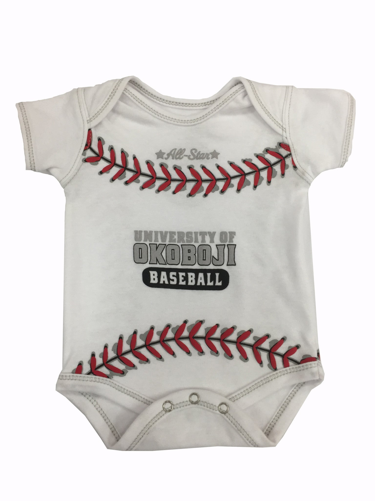 University of Okoboji MVP Baseball Bodysuit