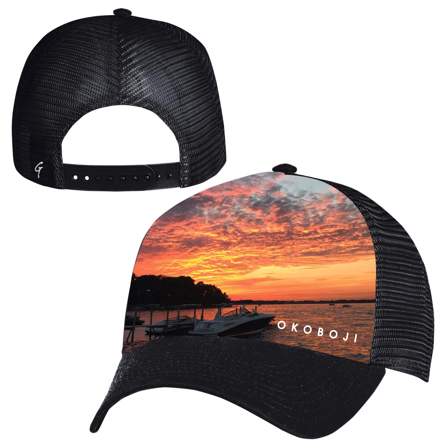 OKOBOJI SUNSET TRUCKER