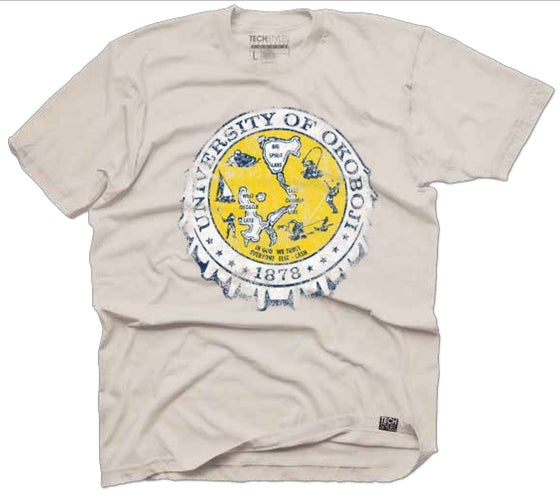 Crest Bottle Cap Tee