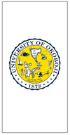 U of O Crest Beach Towel