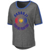 Ladies Okoboji Carpi BF Ringer Tee