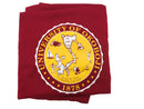 U of O Cardinal & Gold Sweatshirt Blanket