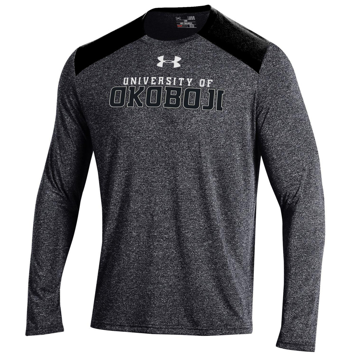 Under Armour Threadborne Black and Gray Longsleeve