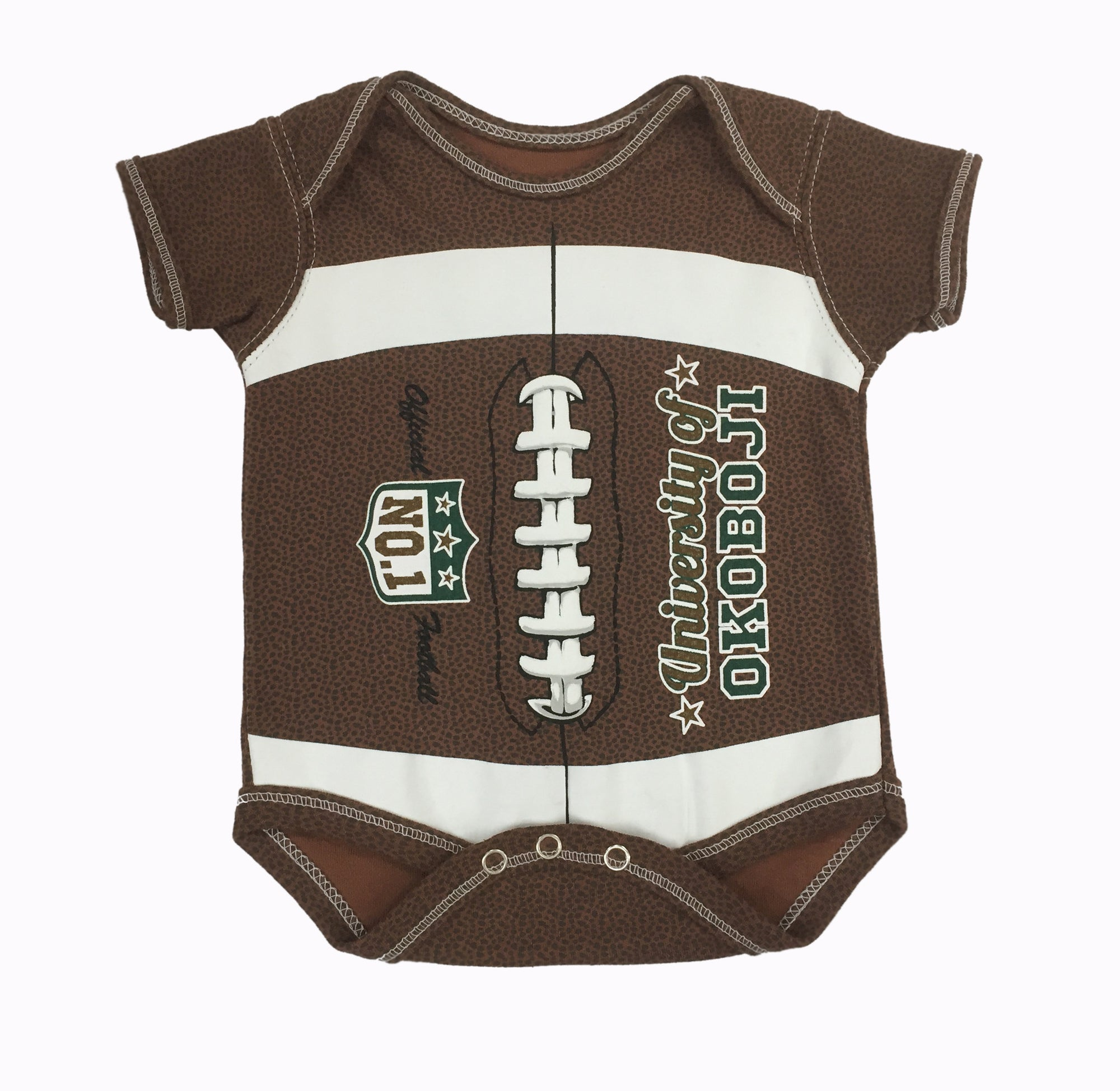 MVP Football Infant Bodysuit