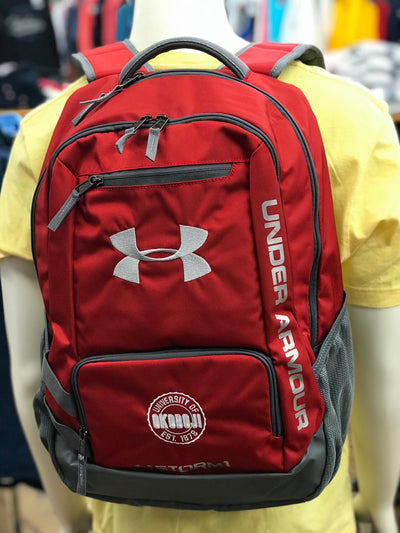 Under Armour University of Okoboji Hustle II Backpack - Red