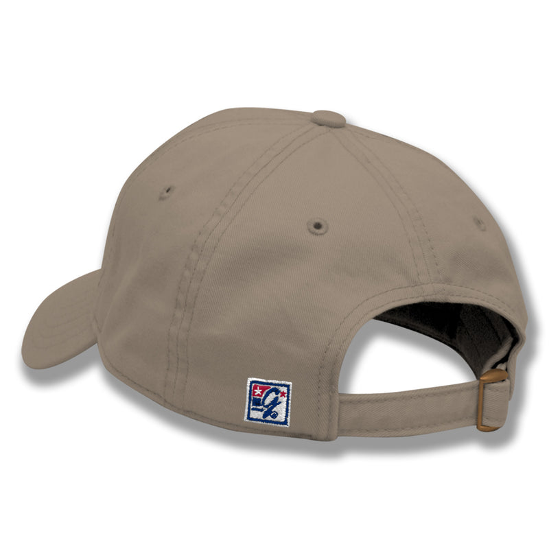 Classic Relaxed Twill Hat-Khaki