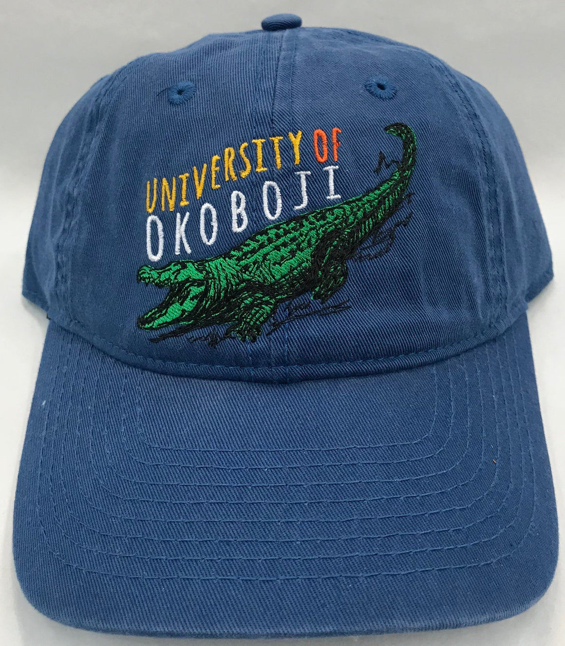 Youth Alligator University of Okoboji Blue  Hat