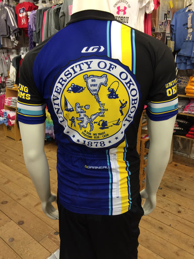 University of Okoboji Men's Tour Dark Cycling Jersey