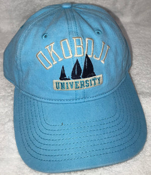 Women's Sky Blue Sailboat Hat
