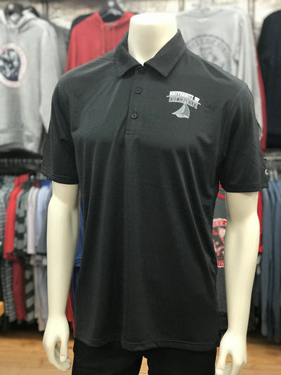 University of Okoboji Champion Golf Polo - Black Heather