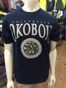 Classic University of Okoboji Navy Tee