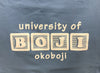 University of Okoboji Baby Blanket - Blue