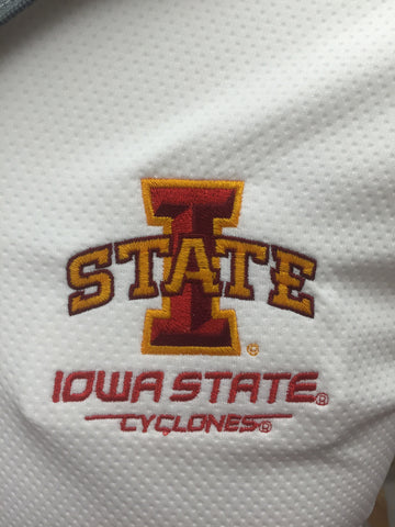 The Under Armour Golf 1/4 Zip - White - ISU