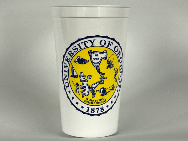 White Okoboji Cups