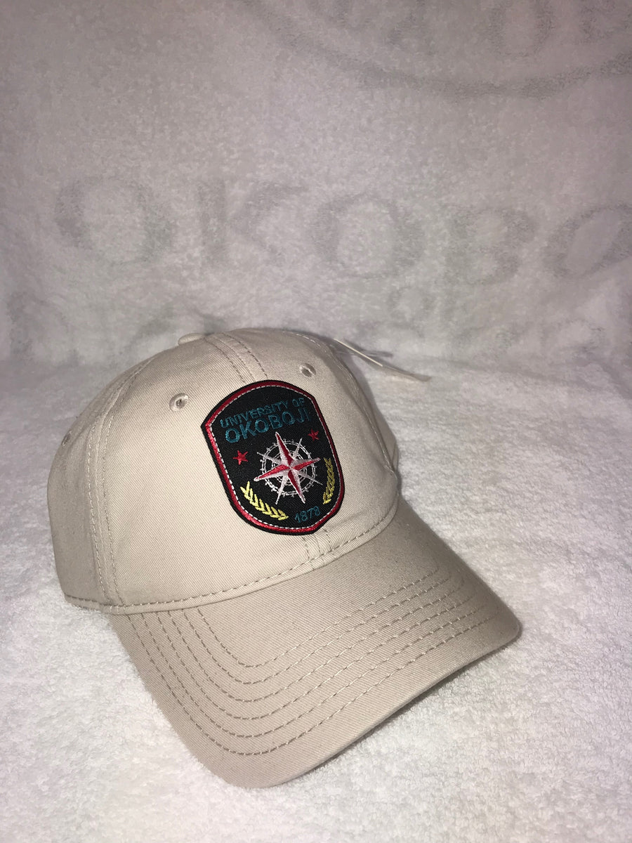 University of Okoboji Badge Hat