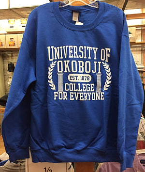 "U of O ""College For Everyone"" Crew - Blue"