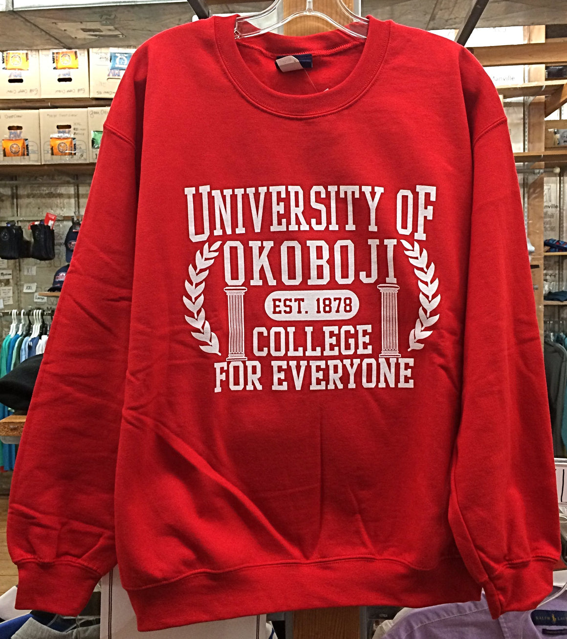 "U of O ""College For Everyone"" Crew - Red"