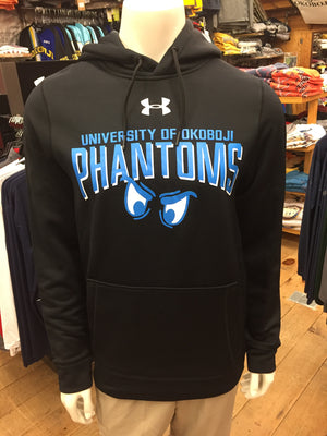 Under Armour Black Hooded Phantoms Sweatshirt