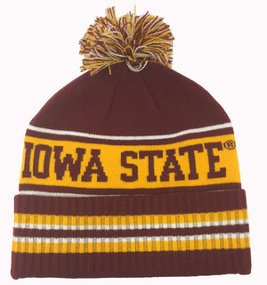 Iowa State Cyclones Pom-Hat