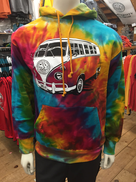 Summer School Bus Hood (Tie-Dye)