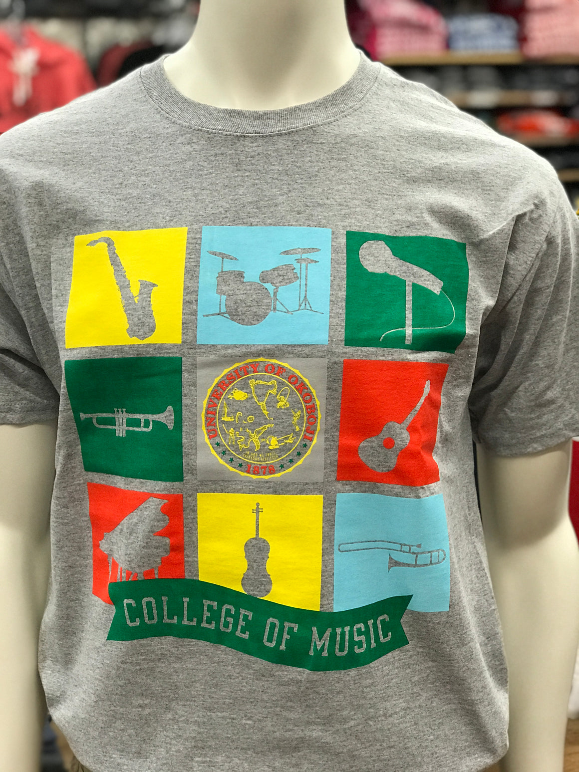 University of Okoboji College of Music - Gray