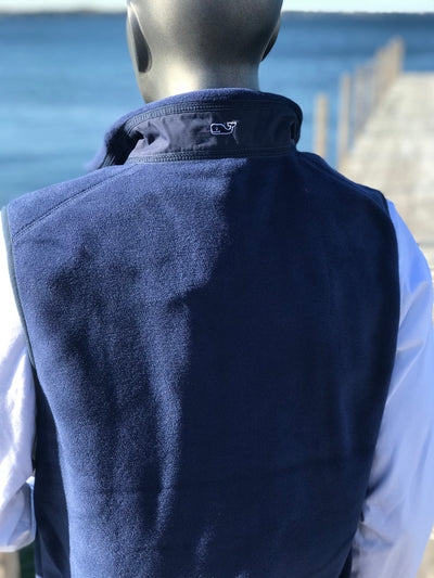 U of Okoboji Fleece Harbor Vest by Vineyard Vines ®‎
