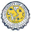 U of O Crest Cap Sticker