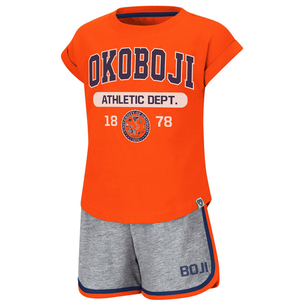 Okoboji Toddler 2 Piece Shirt & Short Set