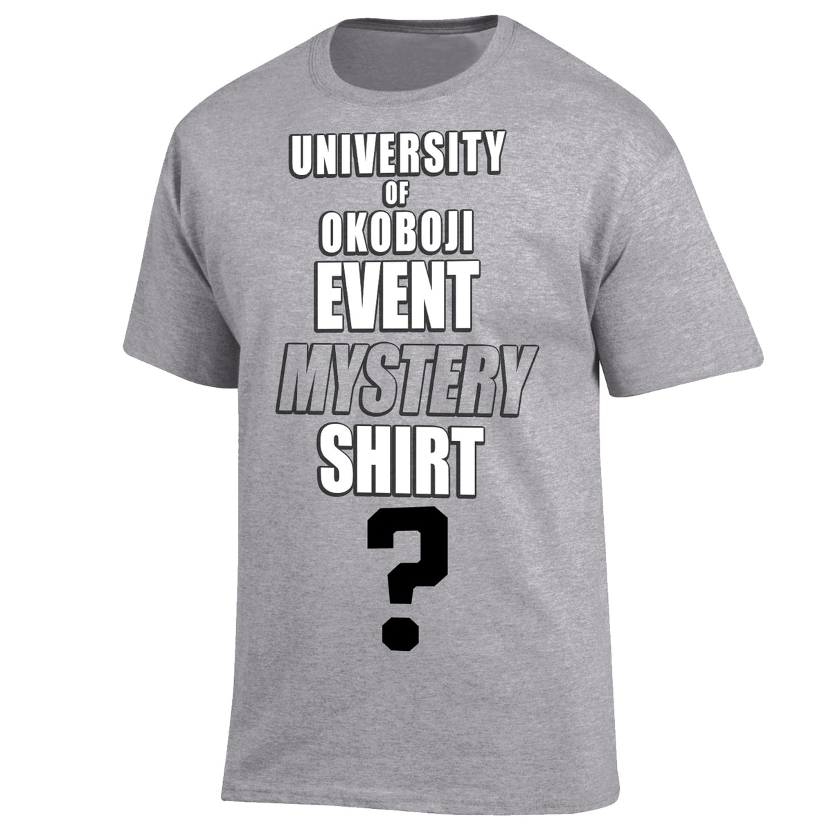 University of Okoboji Event Mystery Shirt