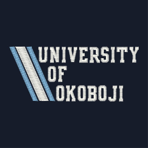 University of Okoboji Admiral 1/4 Zip - Navy