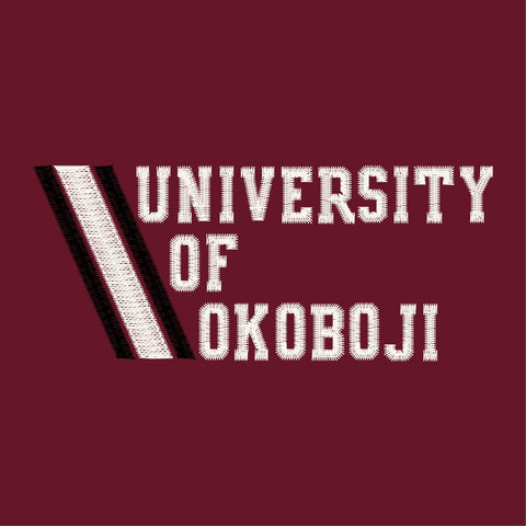 University of Okoboji Admiral 1/4 Zip - Cedar