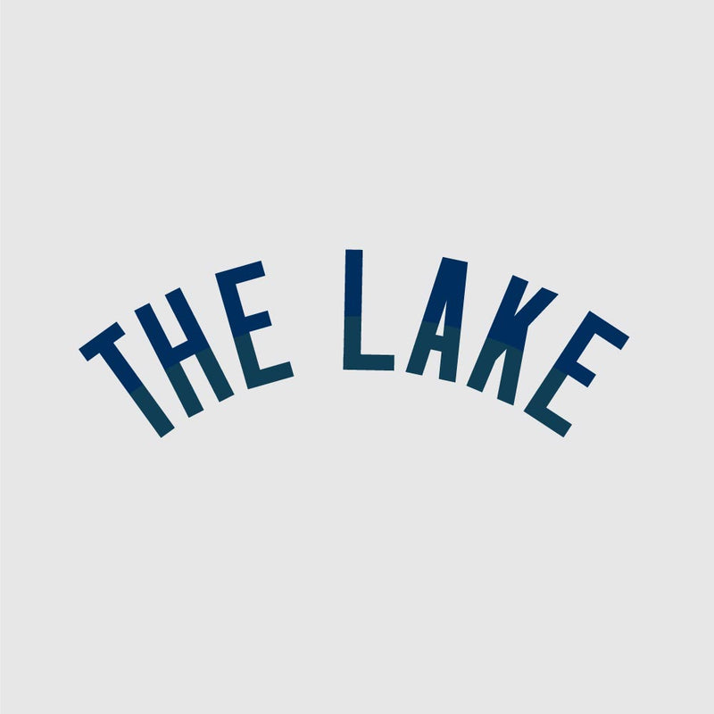 The Lake Okoboji Sleeve Crew - Iced Heather