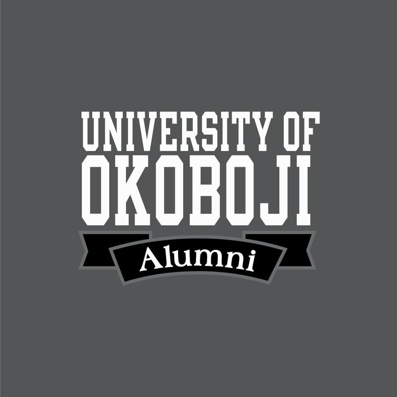 U of Okoboji Alumni Polo - Titanium Grey