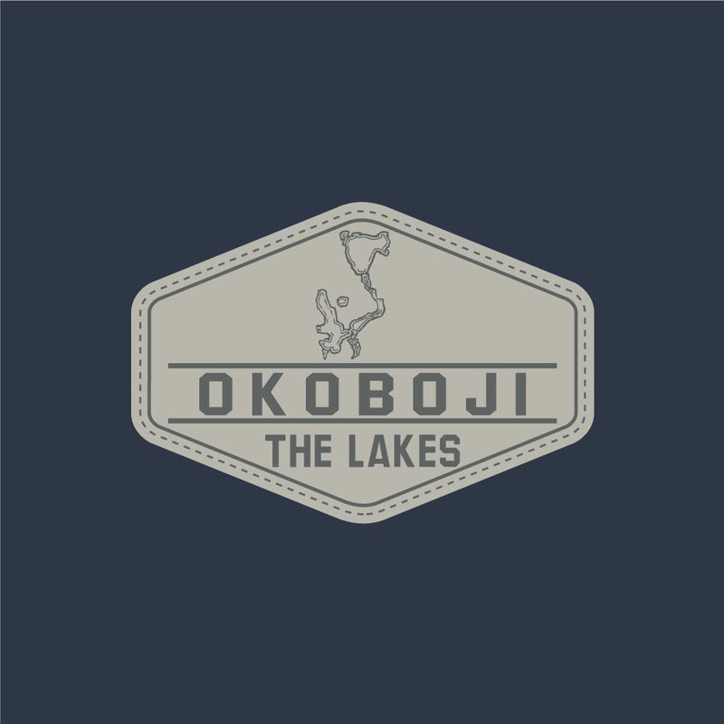 OKOBOJI - THE LAKES - Pigment Dyed Cap - Marine Navy color