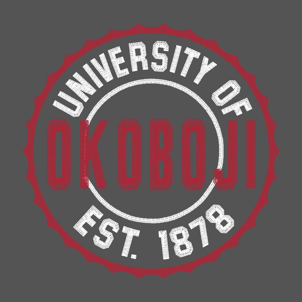 University of Okoboji Coldgear Mock - Graphite