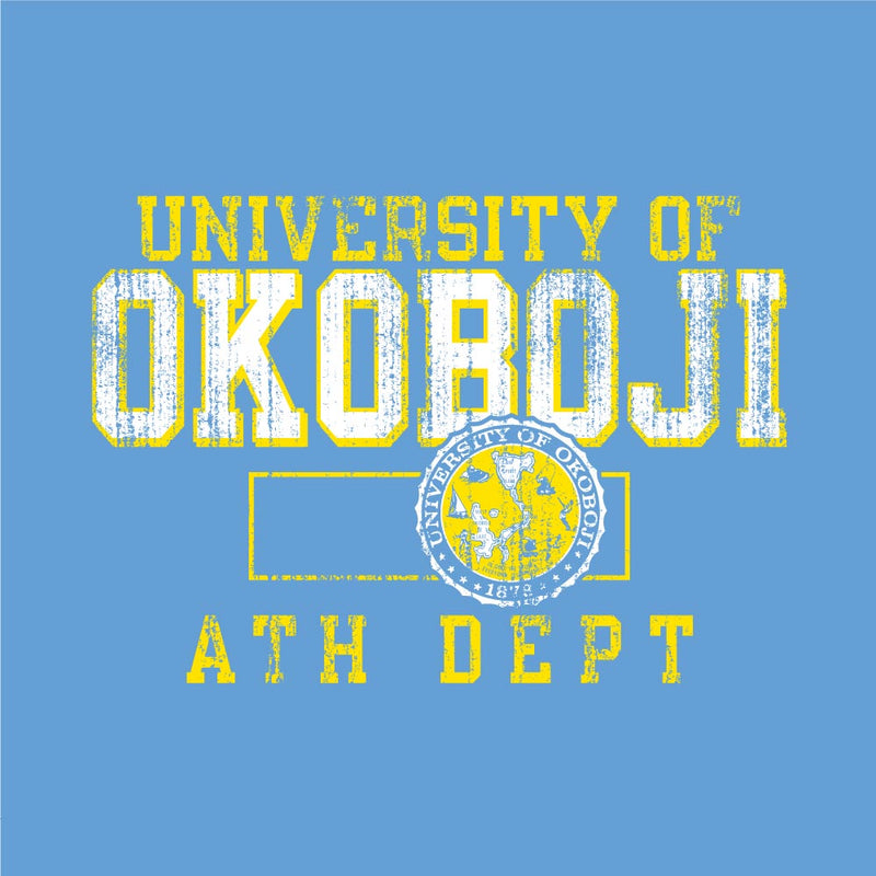 Kids Light Blue University of Okoboji T-Shirt