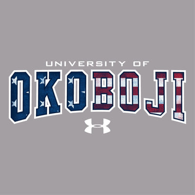 University of Okoboji Women's 60 40 Red, White, and Blue