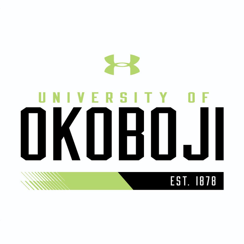 OKOBOJI Tech LS Tee 2.0 - White Hyper Green