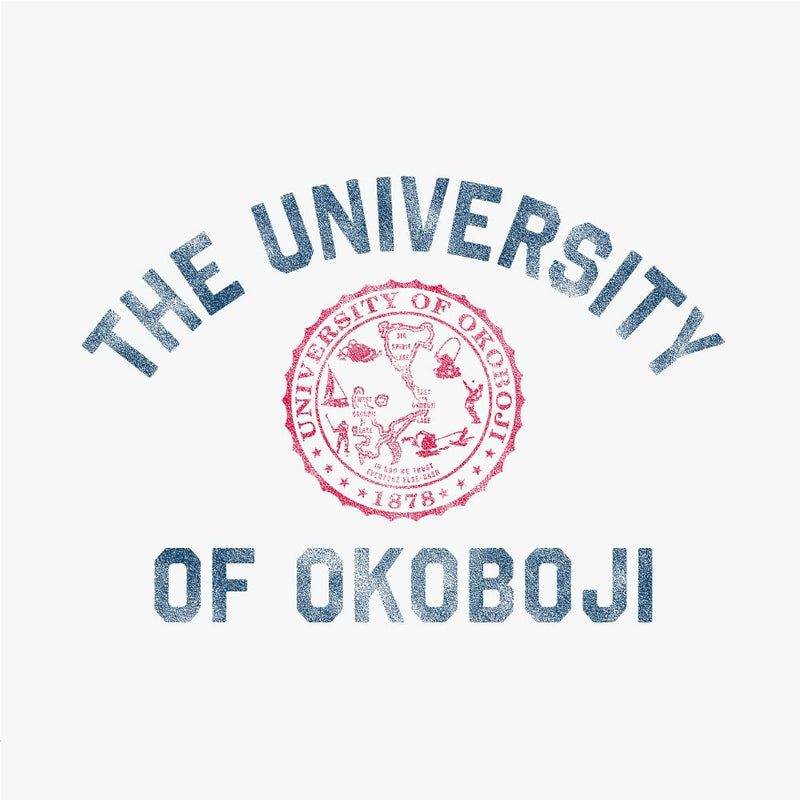 University of Okoboji Baseball Tee - Eco Ivory / Stars