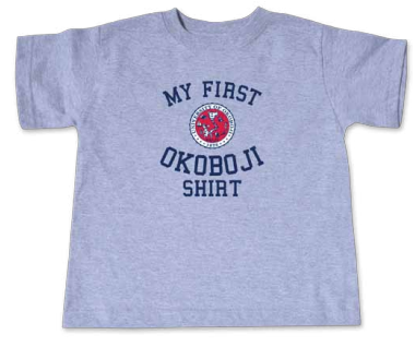 """My First Okoboji Shirt"" - Oxford"