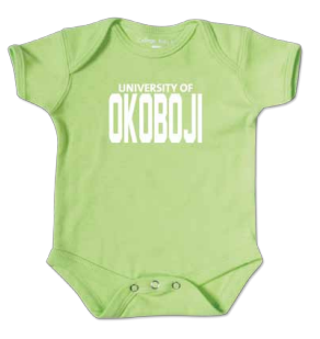 Sprout Green U of O Onesie