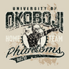 BIG Cotton U of O Home Team Hood - Oatmeal Heather